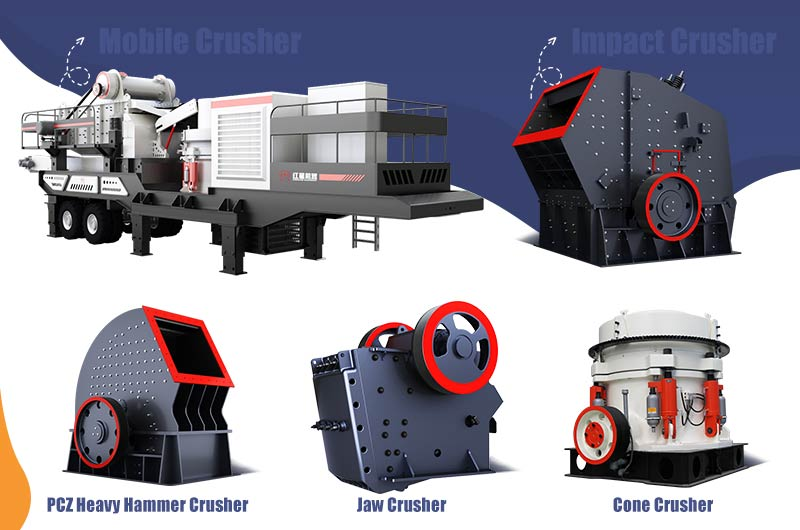 So Many Crusher Equipment, There Is Always One for Your